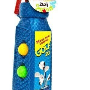 Set De Mini Golf Carrito Con Palos Niños Juguete Oferta